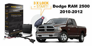 flashlogic plug play remote start for 2010 2012 dodge. Black Bedroom Furniture Sets. Home Design Ideas