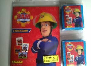 Sam-el-bombero-album-250-cromos-PANINI-2016-sobres-sin-abrir
