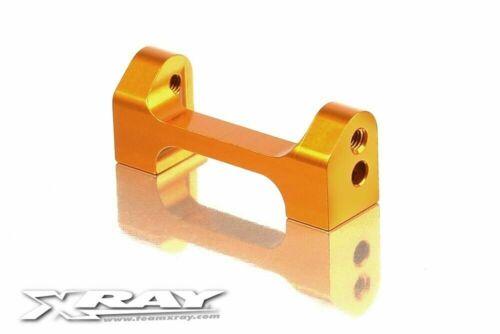 t3 alu Lower Front Suspension 1-Piece Holder-Orange Xray 302047-o