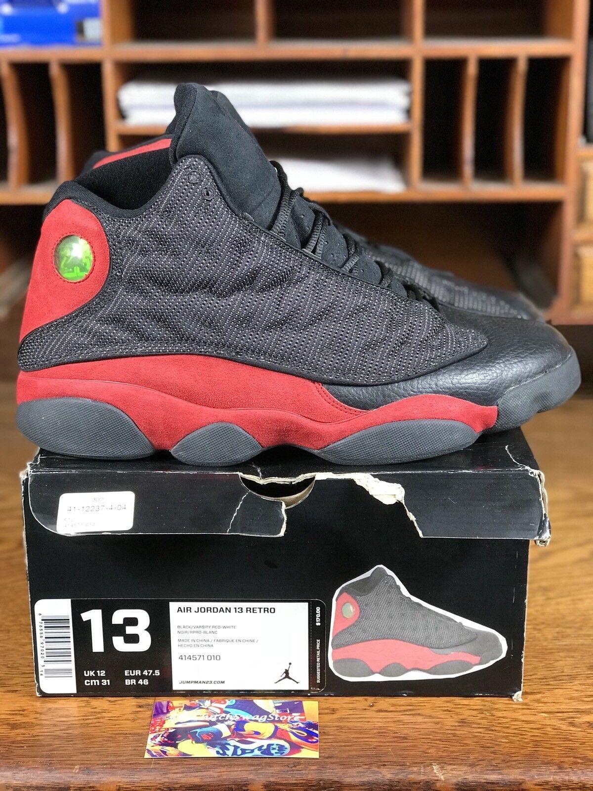 2013 Nike Air Jordan 13 Retro Black/Red