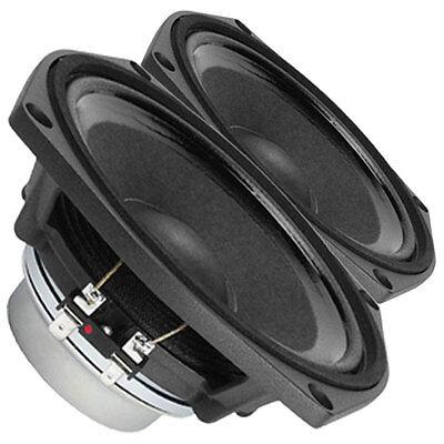 "Pair Faital Pro 6PR122 8ohm Neodymium 6"" 97dB 10Kz Midrange Replacement Speaker"