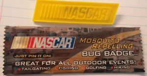 Citronella ~ Free S//H Lot of 20 Nascar Nextel Mosquito Repelling Bug Badges
