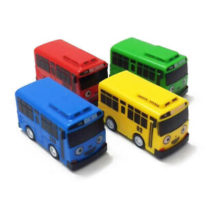 4Styles The Little Bus Tayo Friends Mini Cute Cars Model Scale Pull-back Toy