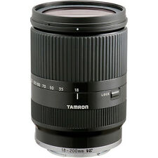 New TAMRON 18-200mm f3.5 - 6.3 Di III VC Lens BLACK (B011) - Sony E