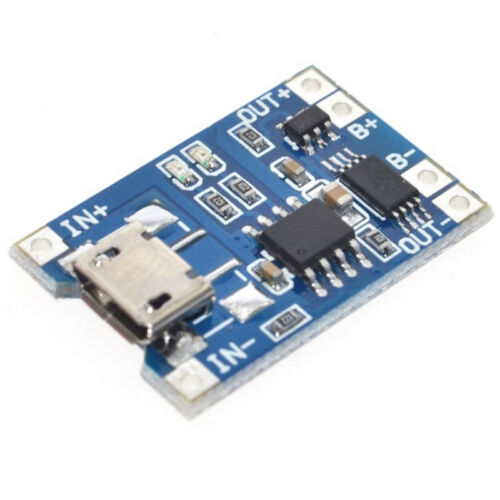 10X 5V 1A TP4056 Electronic Lithium Battery Charging Module USB Board A+^