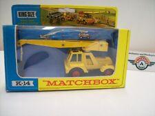 Matchbox K-14A, Jumbo Crane Tayler, gelb, 1964