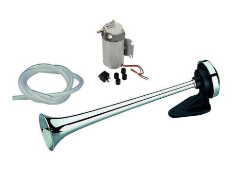 Kompressor-Horn 39cm 12 Volt 2 Bar Fanfare Hupe Horn PKW Transporter Fiat Ducato