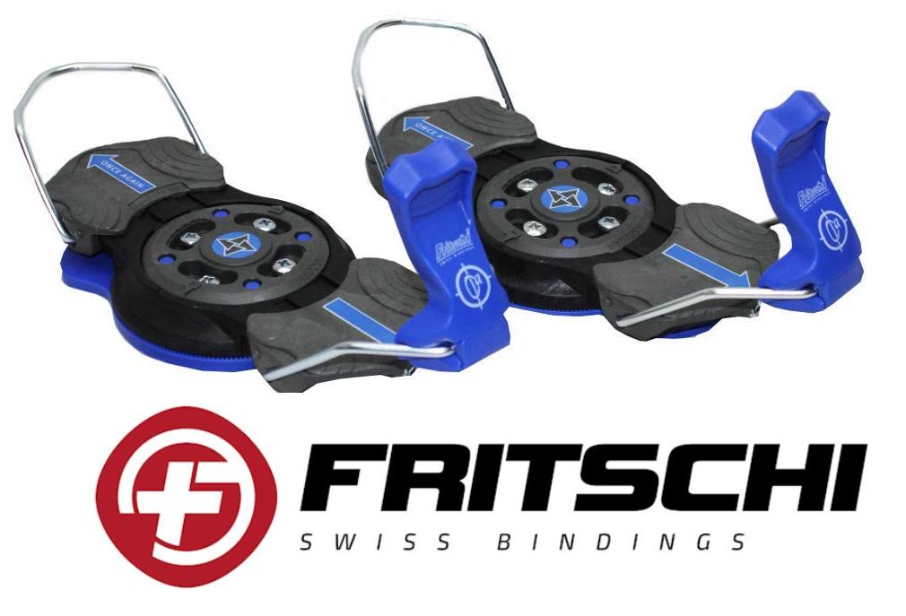 FRITSCHI Snowboard Bindung Step-In Alpin HardStiefel Gr. M L 38 - 47 Plattenbindung