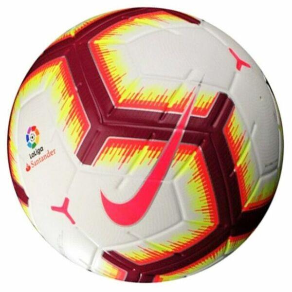 Están familiarizados Vuelo vacante  Nike La Liga Merlin Sc3306-100 Official Match Ball Size 5 Football for sale  online   eBay
