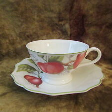 Villeroy & Boch CASCARA Large Footed Cup & Saucer/EXCELLENT!