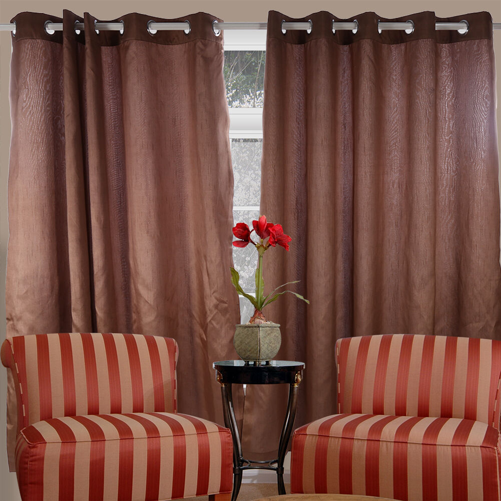 thermal window curtains ready made eyelet ring top fully. Black Bedroom Furniture Sets. Home Design Ideas