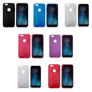 APPLE-IPHONE-6-S-LINE-SILICONE-GEL-ETUI-COQUE-PLUS-PROTECTION-D-039-ECRAN-OFFERTE
