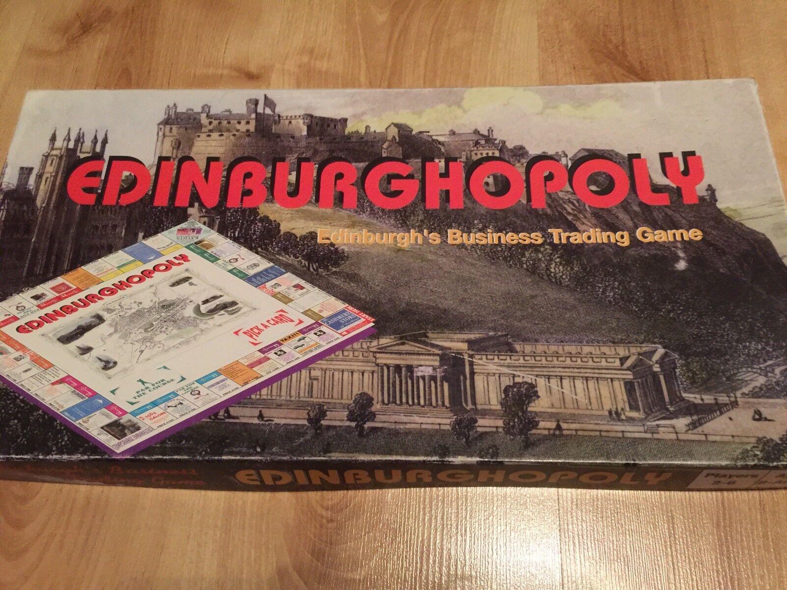GIOCO  da tavolo edinburghopoly edinburghs negoziazione gioco MONOPOLI-COMPLETO  prodotti creativi