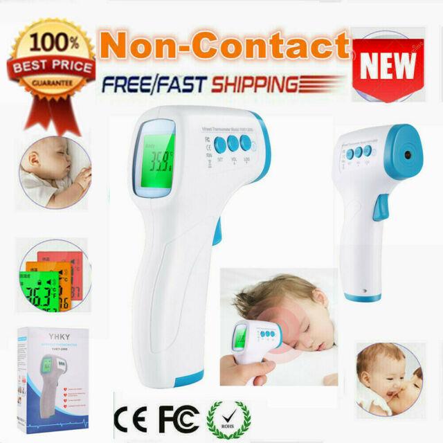 Non-Contact Digital Forehead Thermometer Temperature Gun ...