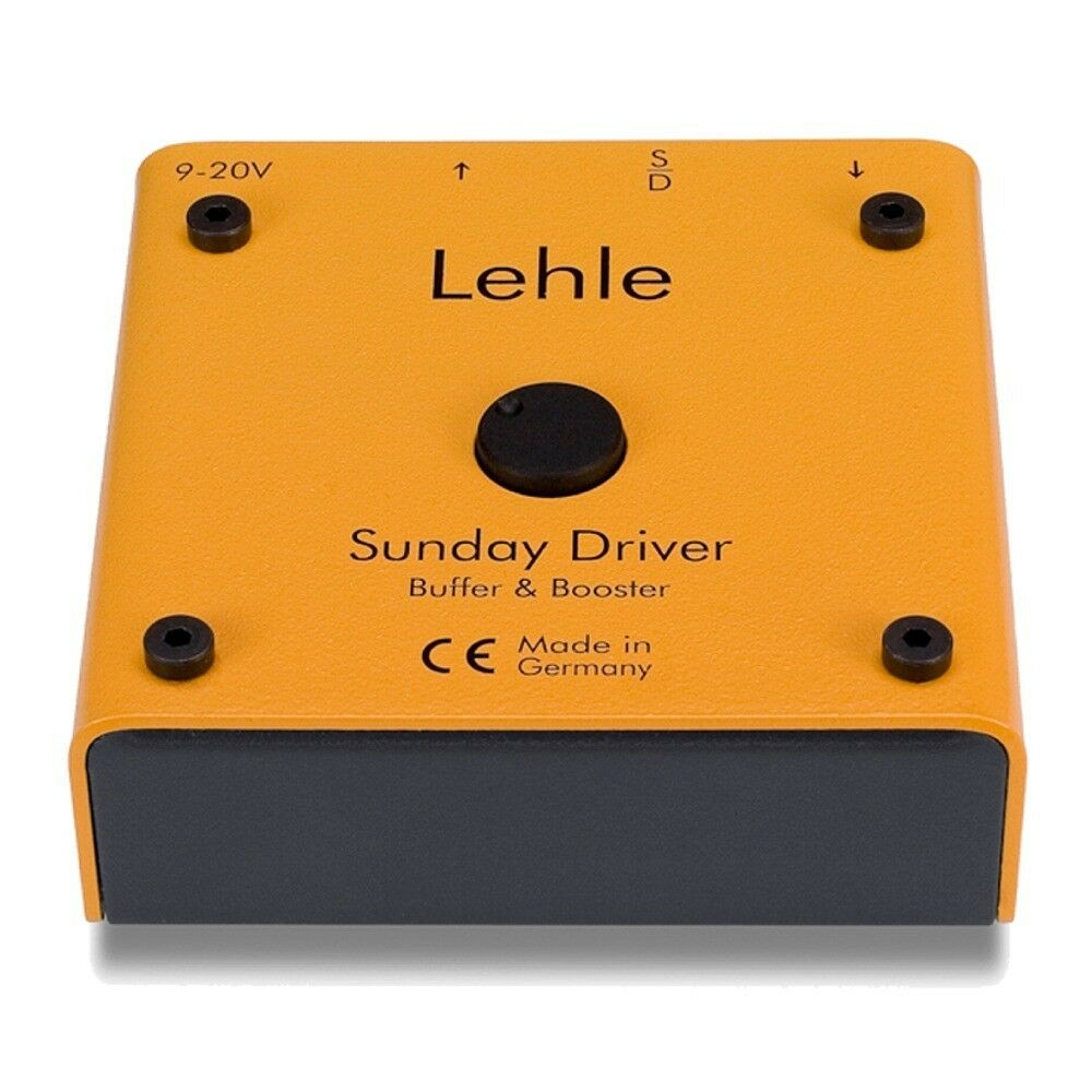 Lehle Sunday Driver Preamp Booster & Buffer Guitar Effect Pedal