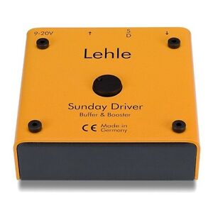 Lehle-Sunday-Driver-Preamp-Booster-amp-Buffer-Guitar-Effect-Pedal