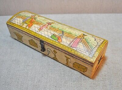 Camel Pencil BoxVintage Pencil BoxAntique Stylus boxBone Pencil BoxDecorative BoxCarved BoxHandcrafted BoxCamel Bone Fitted BoxGift