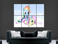 MY LITTLE PONY  GIANT WALL POSTER ART PICTURE PRINT LARGE HUGE !