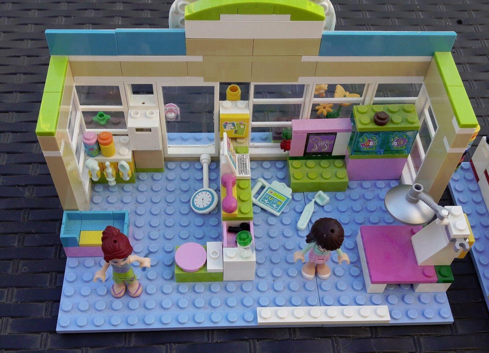 LEGO 3188    FRIENDS  LA CLINIQUE VETERINAIRE HEARTLAKE   NOTICE 10c7a2