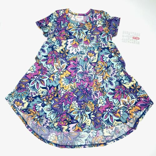 NWT LuLaRoe Scarlett Size 6T /& 8T **PICK YOUR PRINT!** Girls Swing Dress