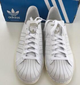 Adidas superstar degli anni ottanta decontaminazione bz0109 bianchi 'occasionale.