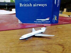 1:400 Hawker Siddeley Trident HS121 2E British Airways