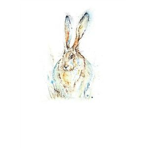 Beautiful-Hare-in-grass-greetings-card-blank-inside-Farm-amp-Country