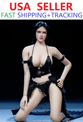 1//6 Scale PHICEN Seamless Female Figure Asian Beauty Doll Set ☆☆SHIP FROM USA☆☆