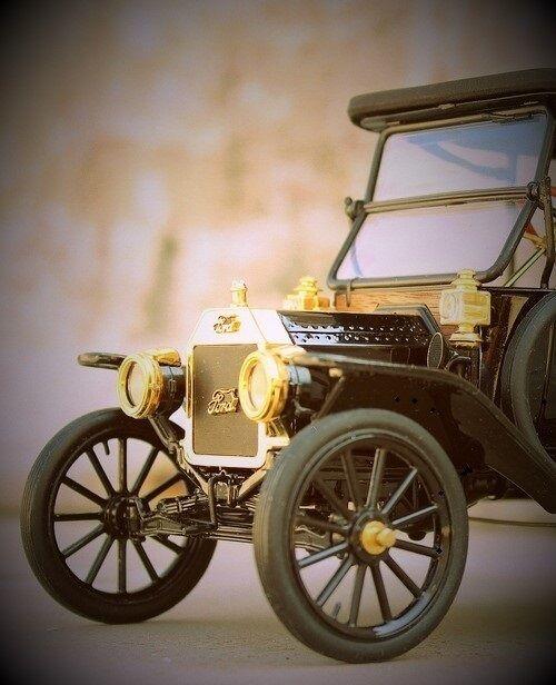 hasta un 70% de descuento Una Una Una Ford modelo 1 Vintage T coche antiguo deporte clásico 24 Cocherusel Negro 12 Metal 18  tienda en linea