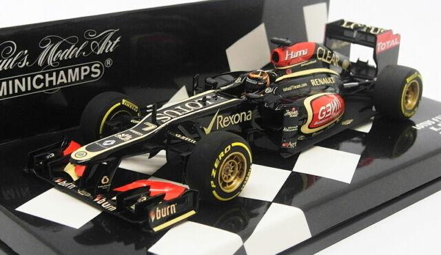Minichamps Escala 1/43 410 130077-Lotus F1 Showcar 2013 K. Raikkonen