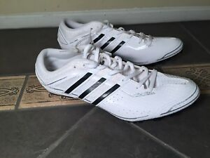 Adidas Sprint Star 4 M B40815 White Track   Field Spikes Shoes Men s ... f96d6201b