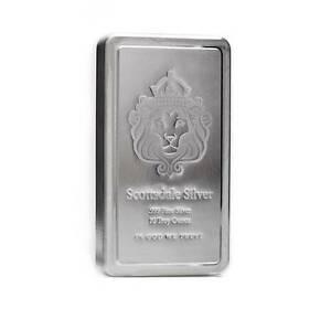 10 oz Scottsdale STACKER® Silver Bar .999 Silver #A182