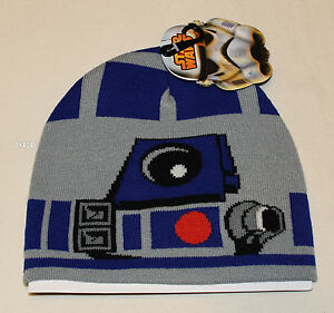 3cc85fe55b7 Star Wars Mens R2D2 Acrylic Beanie One Size New Genuine Licensed