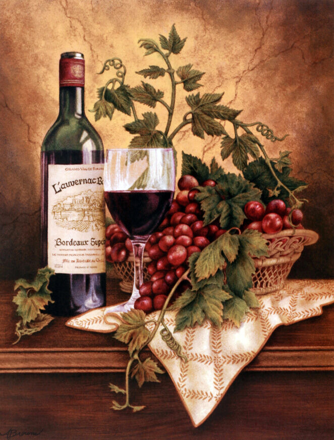 Mega 3D Ripe Grapes Sweet Wine218 Wall Paper Wall Print Decal Wall AJ Wall Paper