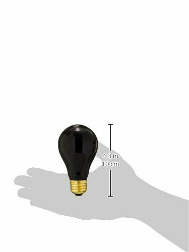 VEI Black Light Bulb Halloween Party Lighting 75W Eerie Glow Effect Blacklite