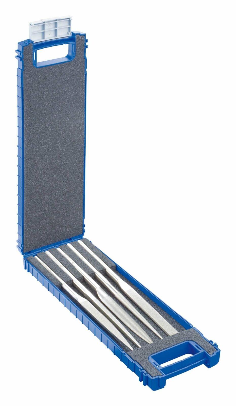 Pferd Diamant-Nadelfeilensatz 5tlg. 140 mm D 126 - DF 4205 D126