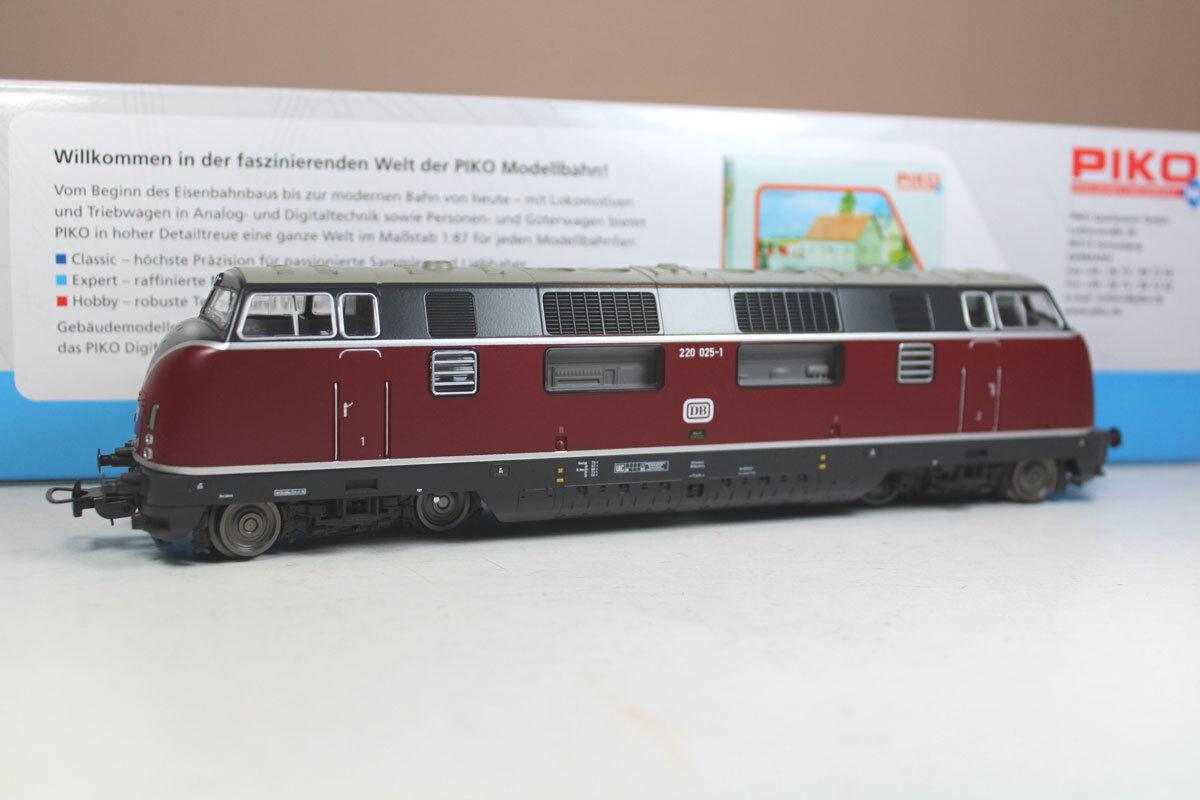Piko 59702-2 diesellok br 220 025-1 DB época IV, productos nuevos.