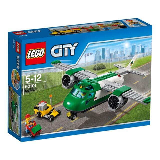 LEGO City 60101 Flughafen Frachtflugzeug