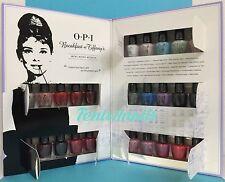 New! OPI BREAKFAST AT TIFFANY'S Mini Mani Month 25-pc Nail Polish Gift Set HRH27