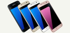 Samsung-Galaxy-S7-SM-G930T-32GB-Gold-Black-T-mobile-Unlocked-Burn-Image-A