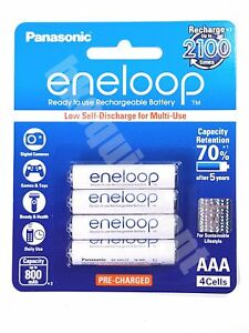 Panasonic-eneloop-BK-4MCCE-Rechargeable-AAA-Pre-Charged-1-2v-NiMH-Battery-x4