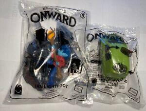 LOT OF 2  NIP - McDonald's Disney Pixar ONWARD Happy Meal Toys # 5 # 7