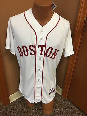 new product 296ff 6df53 MLB Majestic Boston Red Sox Authentic Cool Base Jersey Size 40,48,52 | eBay