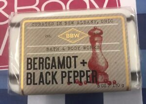 SEALED-Bath-and-Body-Works-Bergamot-Black-Pepper-Botanical-Blend-6-oz-Bar-Soap