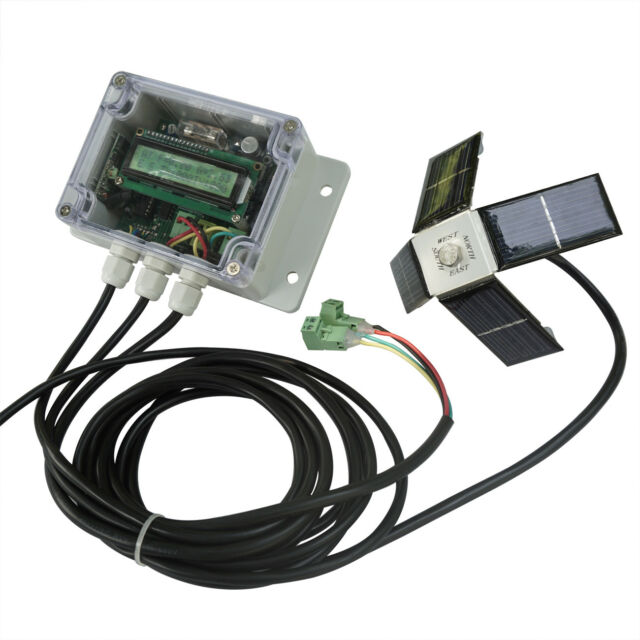 Dual Complete Solar Tracking-Dual Axis Tracker Linear Actuator Controller