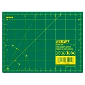 Olfa 6 Quot X 8 Quot Double Sided Self Healing Rotary Cutting Mat