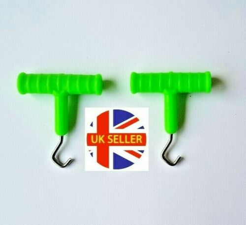 2 x Fishing Knot Pullers Carp barbel Terminal fishing tackle UK seller post free
