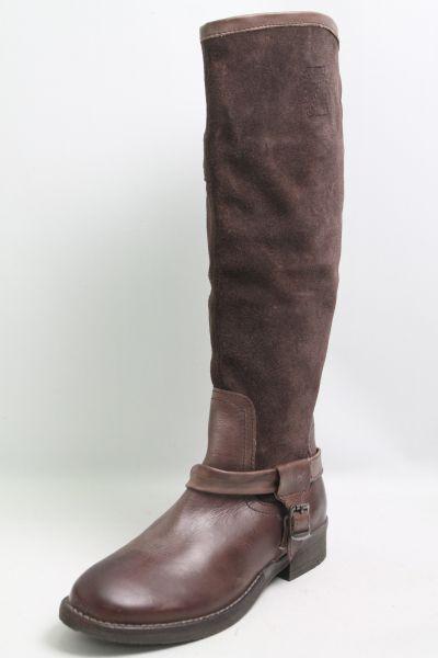 Choizz Stiefel brown Leder Leder Leder Gr. 38 (UK 5) 54c82e