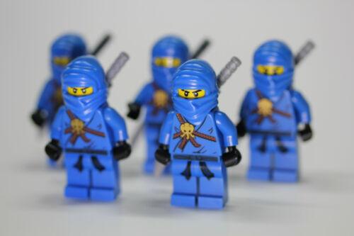 LEGO Ninjago Blue Ninja Jay Minifigure NEW X5 from 2506