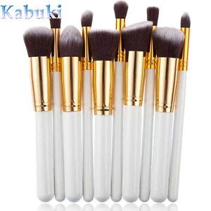 10Pcs-Kabuki-Make-up-Brushes-Set-Face-Powder-Blusher-Foundation-Contour-Brush